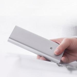 Image 2 - Xiaomi Mi 3 Pro 10000 mAh güç bankası İki yönlü hızlı şarj USB C çift giriş çıkış PLM12ZM 10000 mAh cep telefonu için Powerbank