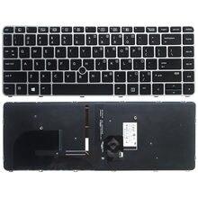 Клавиатура для ноутбука hp elitebook 745 g3 840 g4 серии Тетрадь