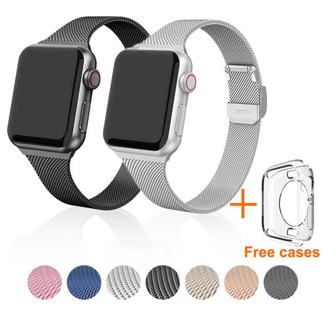 Браслет металлический для Apple Watch 38-42 мм 1