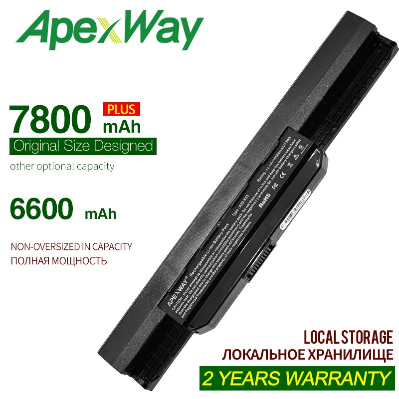 11.1v Laptop Battery For Asus A32-K53 A41-K53 K53SV A43B A32 K53 A43JF A43U A43JC X54H X84 X84S X53U K53t K53S K53s X43 X44 X53S