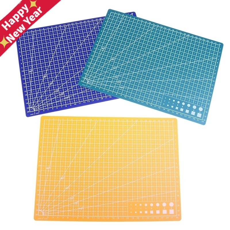 30*22cm A4 Grid Lines Self Healing Cutting Mat Craft Card Fabric Leather Paper Board
