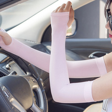 Outdoor Ice Silk Cuff Sport Cooling Arm Warmers Sleeves Cover Sun Protective Cover Golf Sunscreen Cuff accessories Sleeves