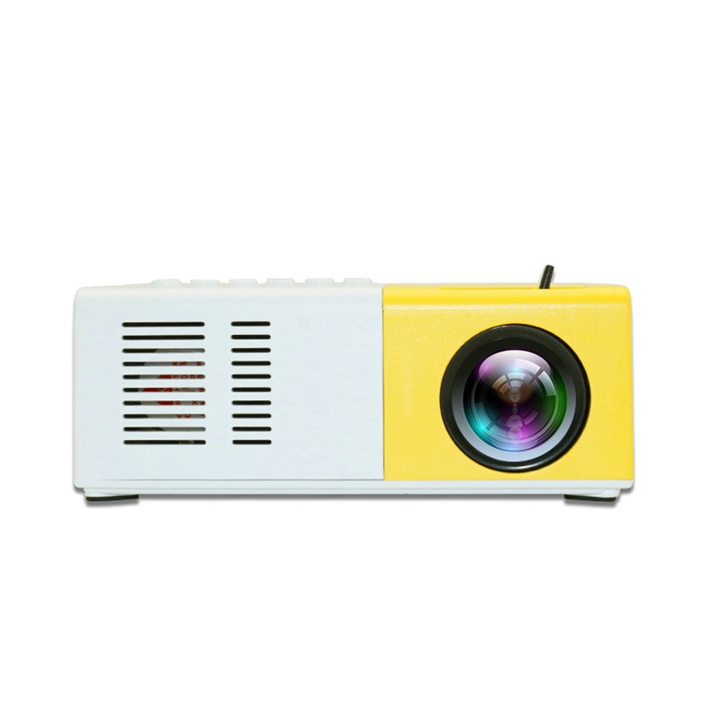 Projector-Machine Mini Home 1080P Led High-Definition Yellow Handheld Portable