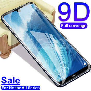 9D Tempered Glass For Huawei honor 7X 7A 7C Pro 7S 8S 8A 8C 8X Screen Protector For Honor 10 Lite 9X Protective Glass Film Case 1