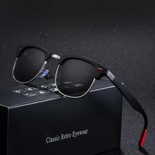 Curtain Sun Glasses Classic Polarized Men Women Retro Brand Designer High Quality Female Male Fashio