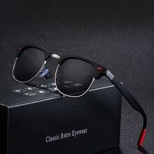 Curtain Sun Glasses Classic Polarized Men Women Retro Brand Designer High Qualit