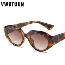 Vwktuun vintage óculos de sol feminino óculos de olho de gato pequenos óculos de sol para mulher