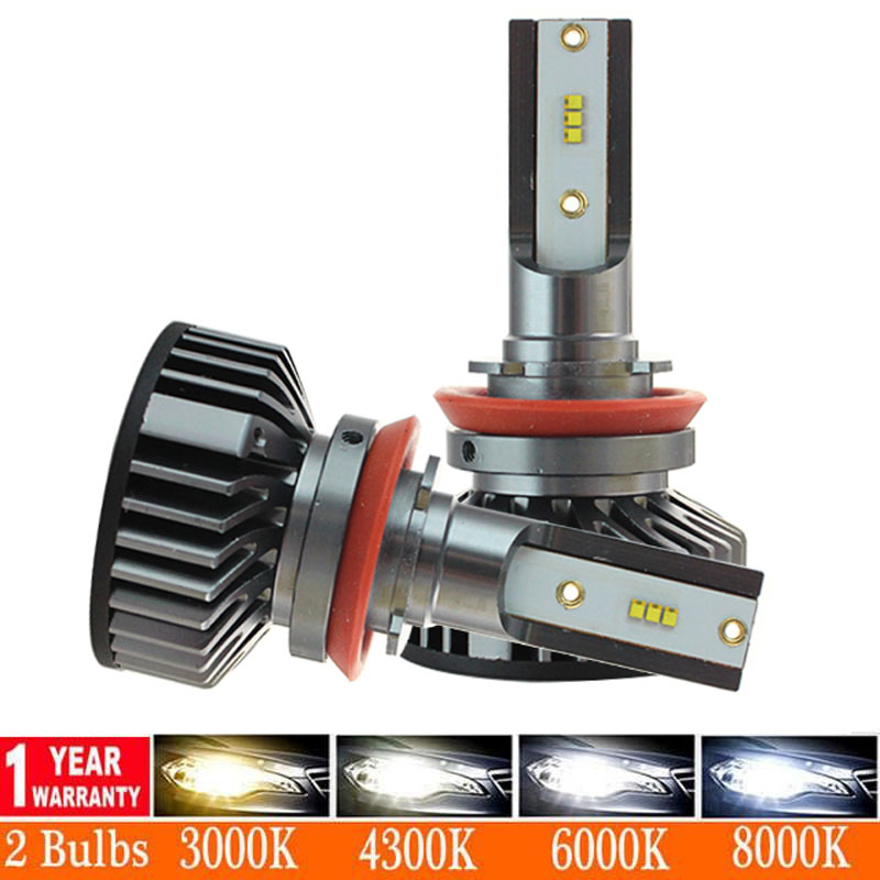 Car Headlight H4 H7 LED canbus H1 H3 H8 H9 H11 9005 HB3 9006 HB4 880 881 H27 CSP LED Bulb <font><b>110W</b></font> 16000LM Auto Fog Light 12V image