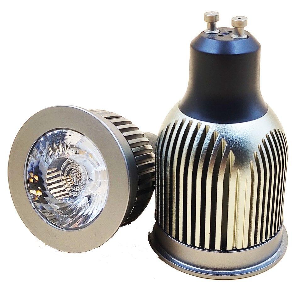 GD 15 Degree Beam Gu10 7W 9W 12W 15W Gu10 Bulb AC220V E27 Dimmable LED Spot Light Bulb MR16 12V LED Spot LED With Pure ALuminum