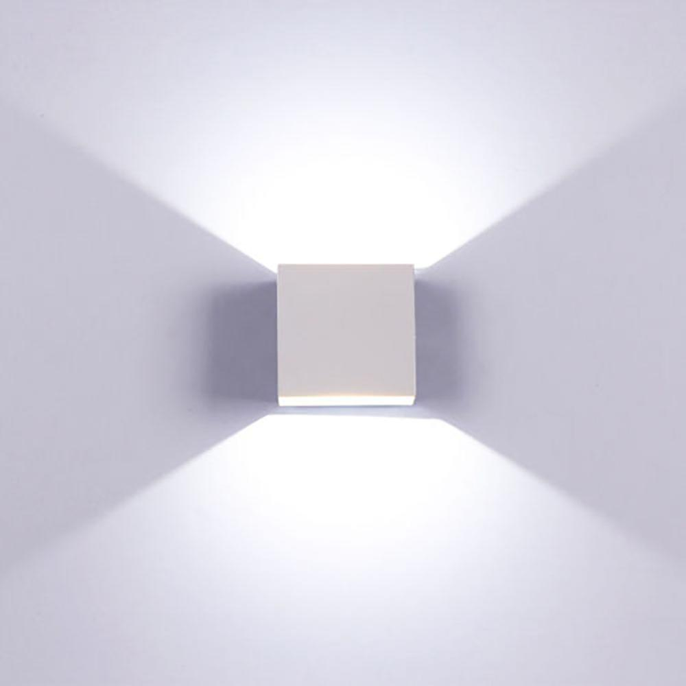 Modern 6W LED Wall Light Up Down Lamp Sconce Spot Lighting  Fixture Indoor Wall Lamps Living Room Porch Outdoor