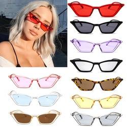 Vintage Small Sunglasses Women Cat Eye Sunglasses 2019 Sexy Summer Red Sun Glasses for Female Brand Designer Eyewear UV400
