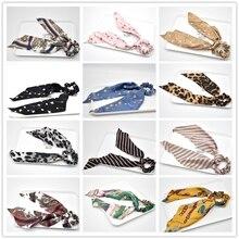 40 colores arco Serpentinas de pelo de moda de anillo de cinta pelo bandas gomas del pelo de cola de caballo corbata sombreros accesorios para el cabello