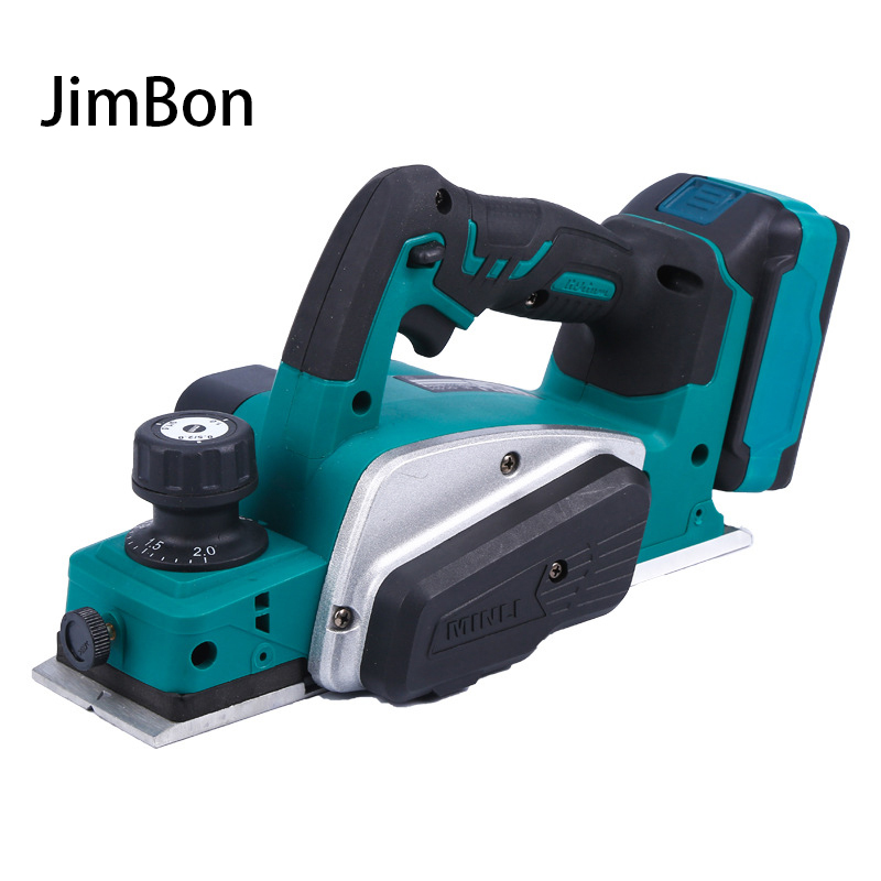 18V 15000rpm Rechargeable Electric Planer Cordless Handheld For Makita 18V Battery Wood Cutting Tool with Wrench Tool
