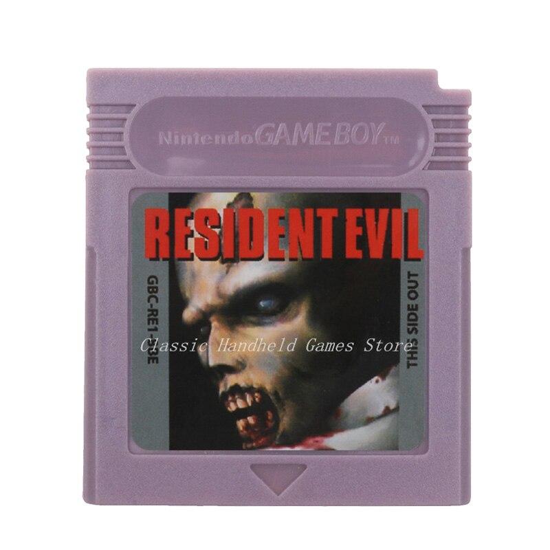 For Nintendo GBC Video Game Cartridge Console Card ResidentEvil  English Language Version 1