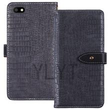 ITien lüks koruma Premium Flip deri kılıf telefon cüzdan kılıf Nuu a7L 5 inç kılıfı kabuk Etui cilt