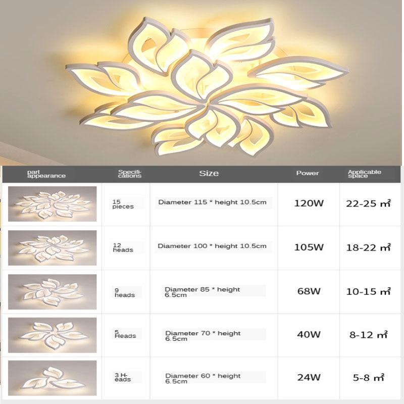 lampada de teto led moderna para quarto 04