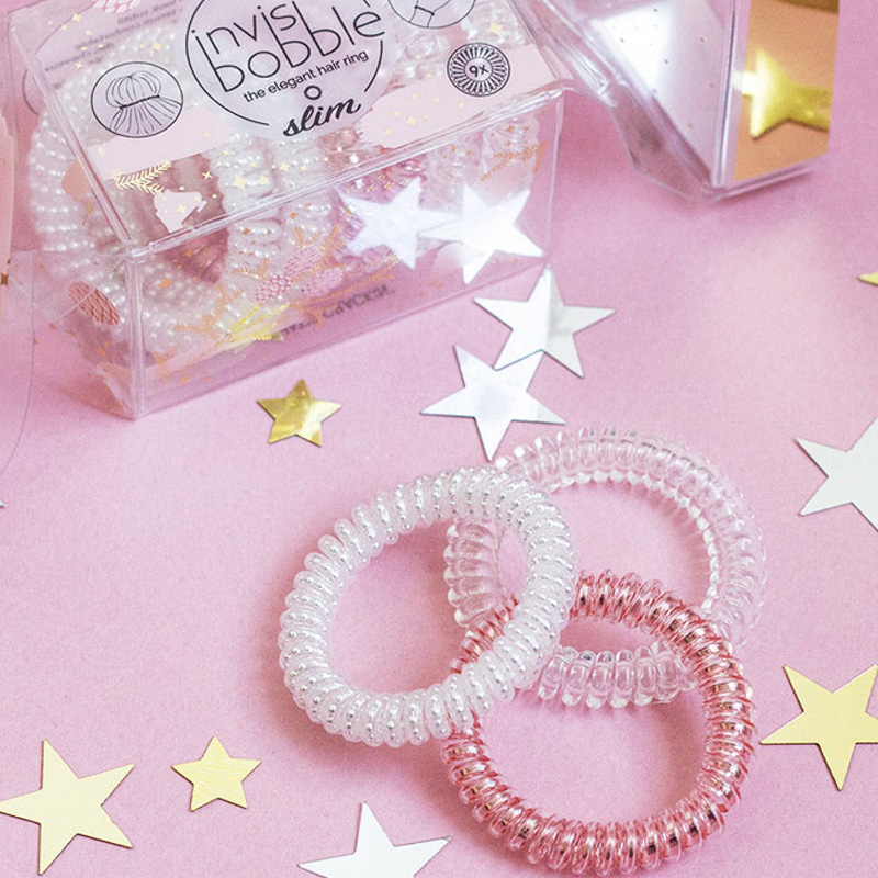 New Product Germany Invisibobble Telephone Line Hair Ring Hair Rope Hair Tie Hair Band Jewelry Streamline