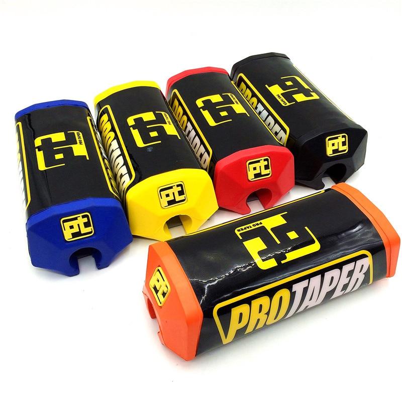 Pro Taper 2.0 Square Handlebar Bar Pad Fat Bar Pad Chest Protector Cross Bar Fit 1-1/8 Handle Bar Motorcycle Dirt Bike Pit Bike