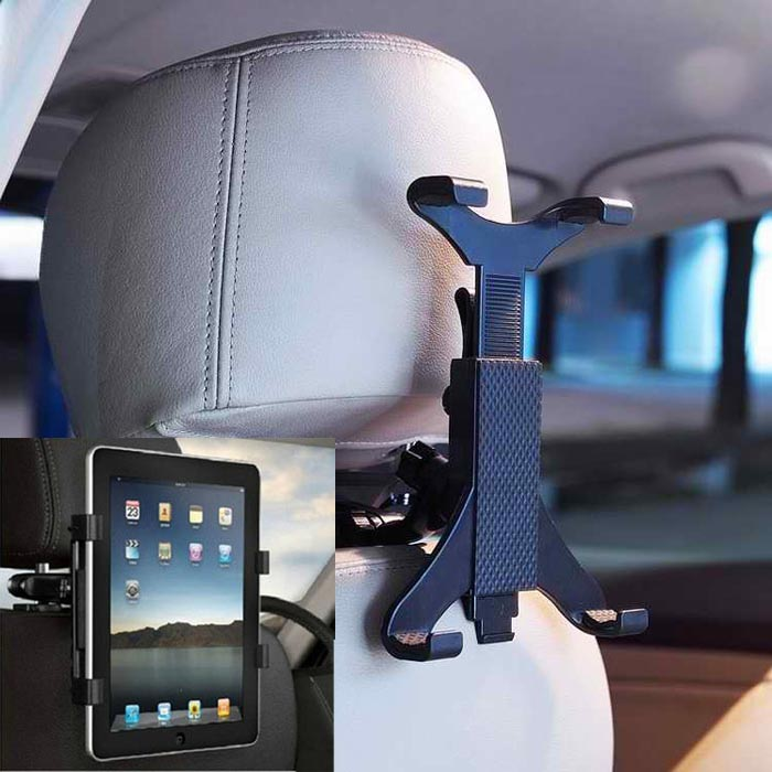 360 Degree Ratating Car/Truck Back Seat Headrest Phone Mount Holder For Cell Phone For Tablet PC #H15