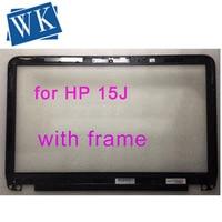 Free shipping original For HP Envy TouchSmart 15 J 15J Touch Screen Digitizer Glass