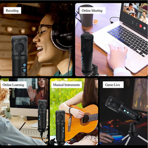 Image 5 - USB Microphone Professional Condenser Microphone Kit Cardioid Studio Recording Microphone Karaoke Microphone for Computer Podcas