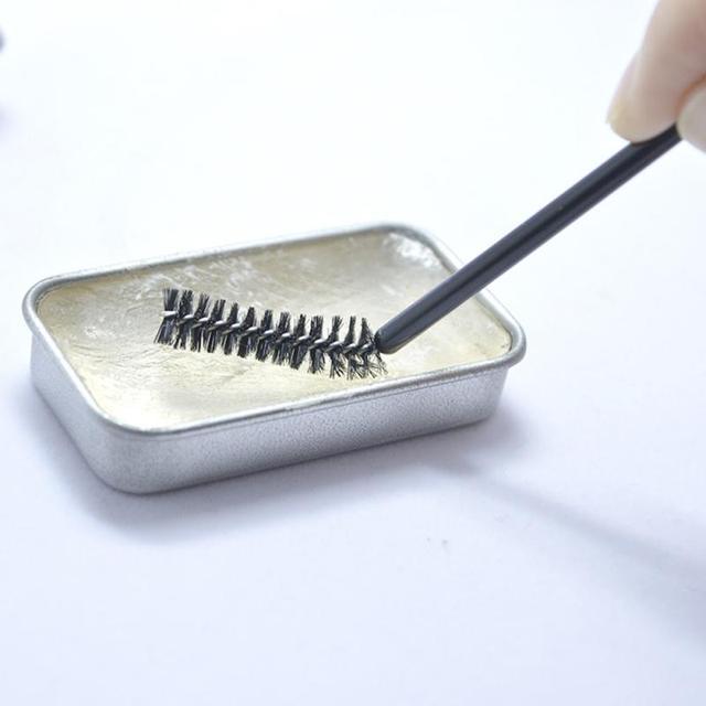 Beckisue Eyebrow Kit Pomade Cosmetics Makeup Gel Soap Cosmetics Balm Styling Eyebrow Tint Pomade Waterproof Brow Lasting 3D Wild 3