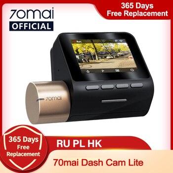 New 70mai Dash Cam Lite 1080P Speed Coordinates GPS Modules 70mai Lite Car Cam Recorder 24H Parking Monitor 70mai Lite  Car DVR