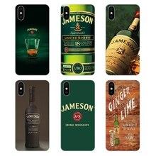 El whisky irlandés Jameson li mi ted edición cartel cubierta de piel de silicona para Xiaomi mi A1 A2 5X 6X 8 lite SE Pro Max mi x 2 2S 3 mi 5 mi 5S