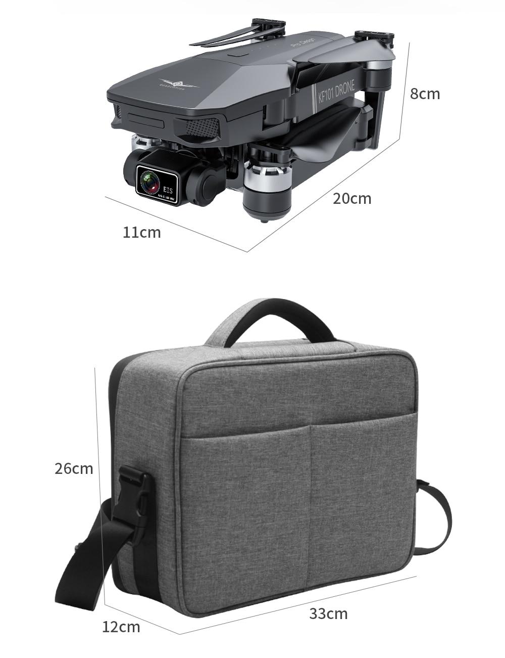 H6a1daa7309084576bf64b6cd190d87b6x - New KF101 GPS Drone 4K Professional 8K HD EIS Camera Anti-Shake 3-Axis Gimbal 5G Wifi Brushless Motor RC Foldable Quadcopter