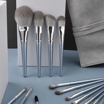 14 Blossoming of Maximo Oliveros Initial Li Classmates Makeup Brush Wooden Handle Beauty Tool Powder Set to S - discount item  24% OFF Makeup