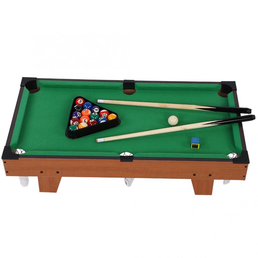 """20/"""" tavolo Pool Gioco Set Giocattolo Bambini Adulti Famiglia Natale Nuovo Biliardo Palline Cue"""