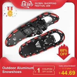 Outdoor Sneeuwschoenen Aluminium Verstelbare Bindingen Ski Carrying Tote Tas Praktische Duurzaam Voor Vrouwen Mannen 25/27/29 inch 3 kleuren