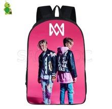 Marcus and Martinus backpack Women Teenage school bag girls Fashion waterproof travel