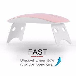 Mini Nail Led Lamp Portable UV