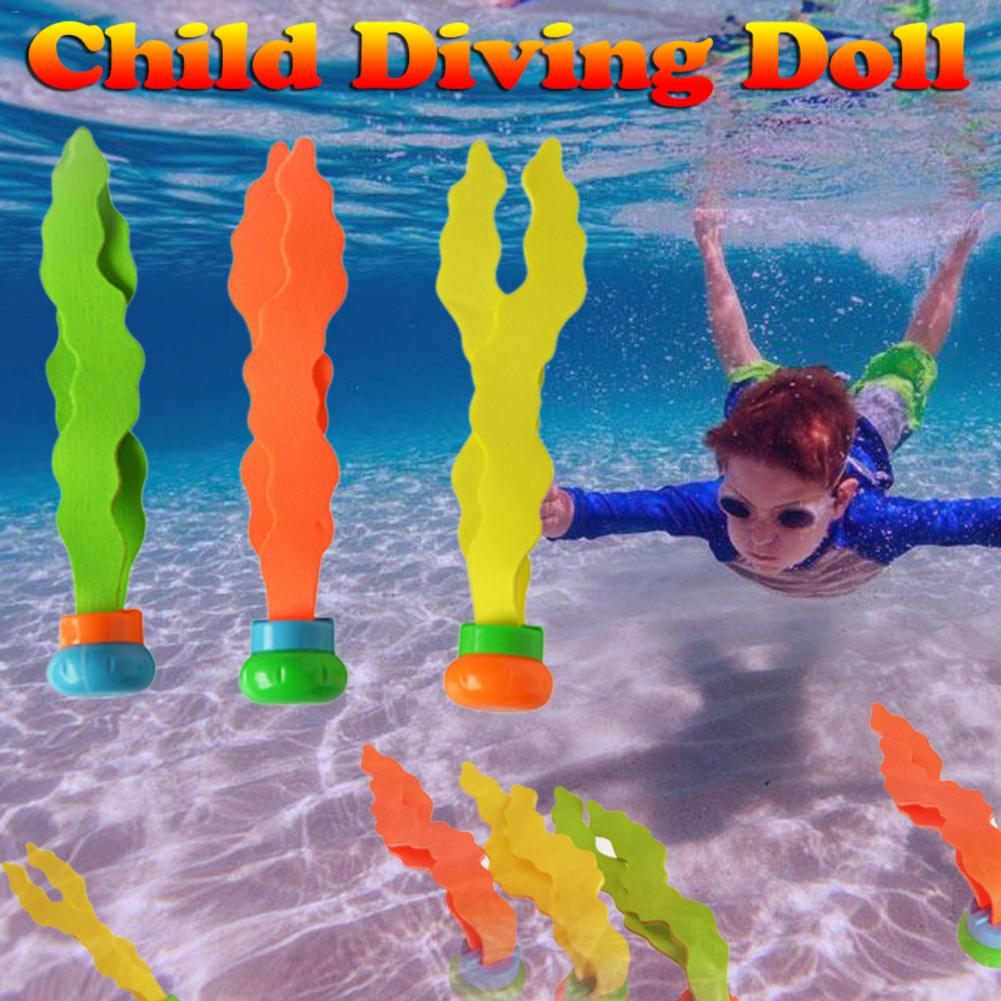 Diving Seaweed Toy Plant Shape Swimming Pool Toy PVC Safety Material Swimming Training Props Outdoor Parent-child Toys
