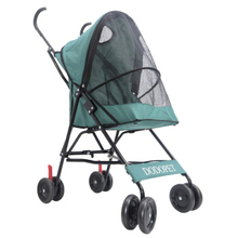 Free Installation Stylish Beautiful Small Lightweight Outdoor Travel Pet Four Wheel Cart Foldable Cats Dogs Generic Supplies
