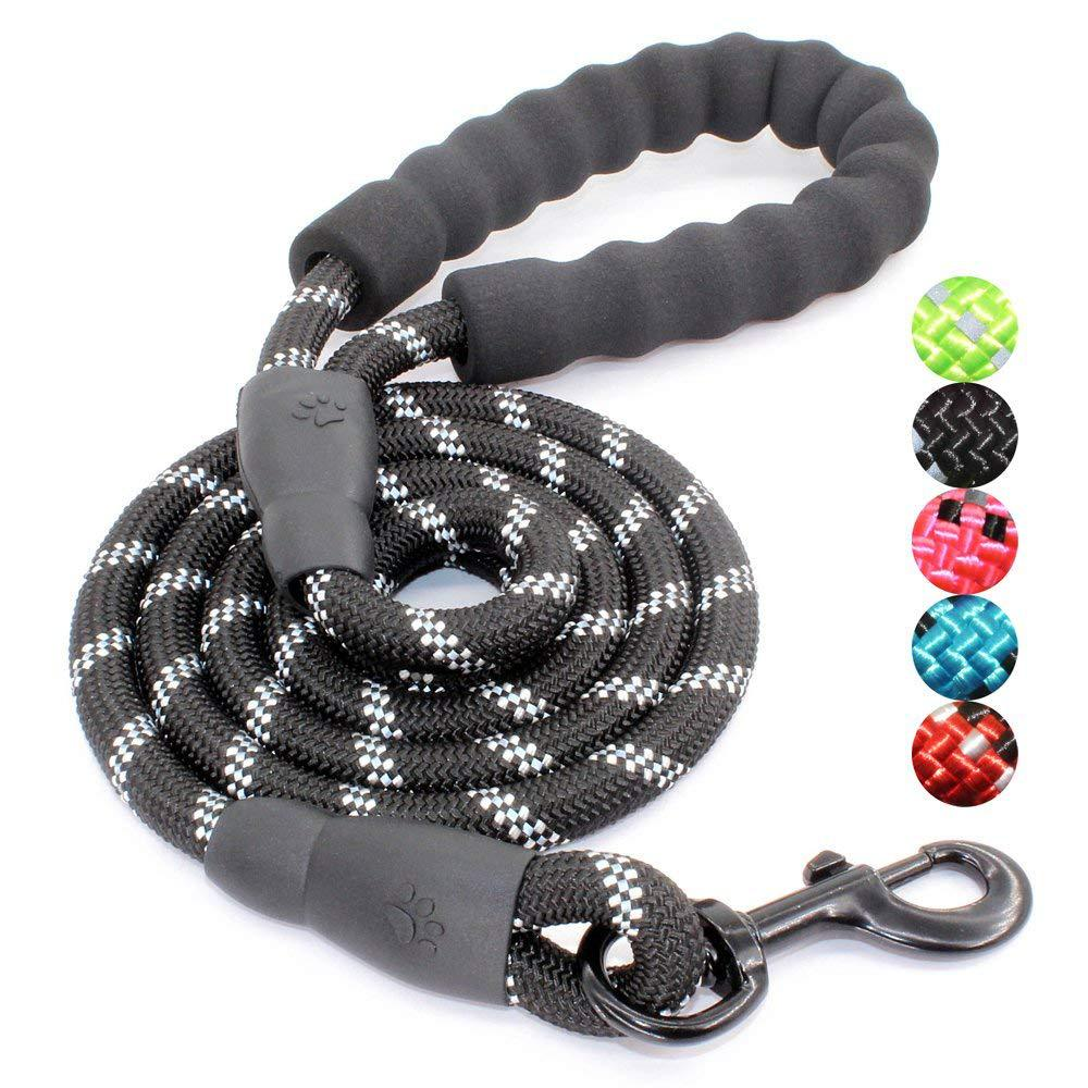 Cross Border Hot Selling Dog Pendant Dog Hand Holding Rope Small Large Dog Rope Reflective Pendant