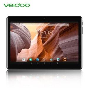 Veidoo 4G телефонные звонки планшеты Восьмиядерный 10,1 дюймов Full HD 1920 × 1200 4 Гб RAM 64 Гб ROM LTE GPS Android 9,0 6000 мАч планшетный ПК