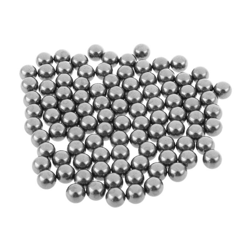 Hot 100 Pcs Bike Bicycle Wheel Bearing Steel Balls 7mm Diameter