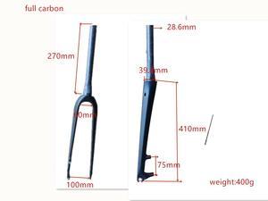 2019EARRELL передняя вилка из углеродного волокна, передняя вилка из углеродного волокна для дорожного велосипеда, передняя Тормозная вилка, час...