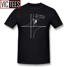 Mens Gandalf T Shirts You Shall Not Pass T-Shirt 100% Percent Cotton Tee Shirt Funny Streetwear Graphic Man Tshirt