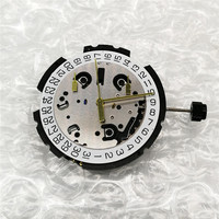 Swiss Original ETA G10.211 Quartz Watch Movement with Stem & Battery 6 Pin Date at 4' Watch Repair Parts