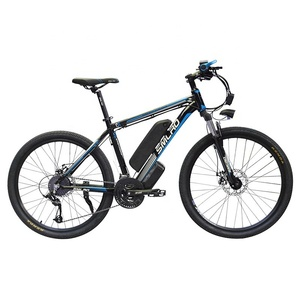 Image 4 - New C6 Product 26 inch electric bike/electric bicycle 48V 10AH 350W with 21 speed high quality