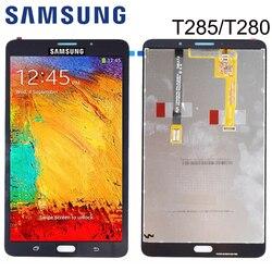 Tela de reposição para samsung galaxy tab a, display lcd 7.0 t280 t285, painel de toque, vidro, digitalizador freesip