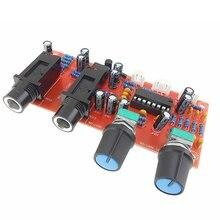 PT2399 NE5532 микрофонный усилитель плата усилителя реверберации панель Цифровой микрофонный усилитель модуль