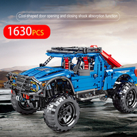 1630PCS Car Model Series Building Blocks Off road Vehicle Mini Model Small Particles Bricks Toys For Children Gifts
