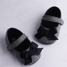 Hot Toddler Girl Crib Shoes Newborn Baby Kids Bowknot Soft Sole Prewalker Infant Lovely Sneakers Fashion Summer Shoes