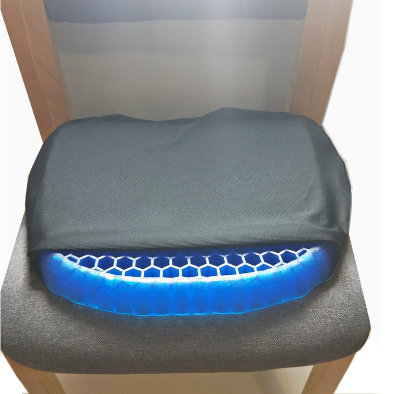 Honeycomb Ice Pad Gel Seat Cushion