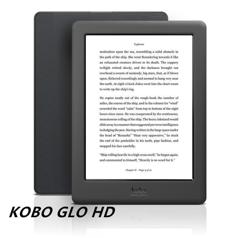Leitor de e-book kobo glohd 300ppi e-ink de 6 polegadas leitor de e-book n437 tela hd 1448x1072 e-books leitor 4/16gb wifi