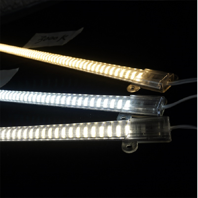 5pcs /lot 200-240Vac 50cm 20inch Led Cabinet Bar Light ,6W 2835 Driver Free Rigid Bar Lamp,kitchen Under Cupboard PVC Hard Strip